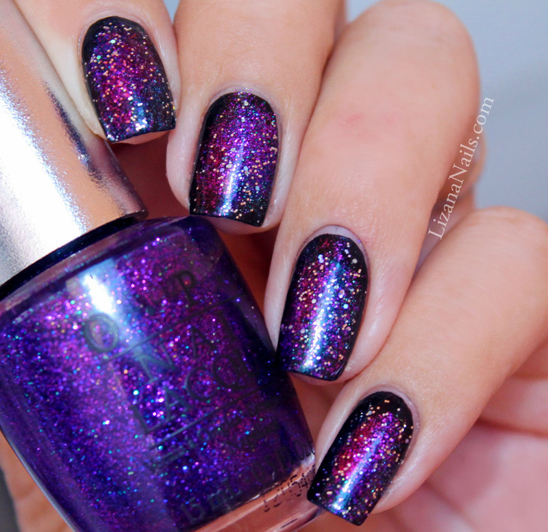 Galaxy Nails nail art by Lizana Nails - Nailpolis: Museum of Nail Art