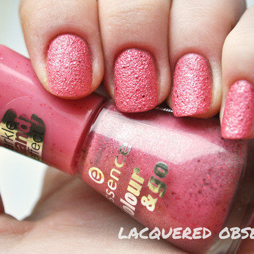 Essence Colour & Go 182 hello rosy Swatch by Lacquered Obsession
