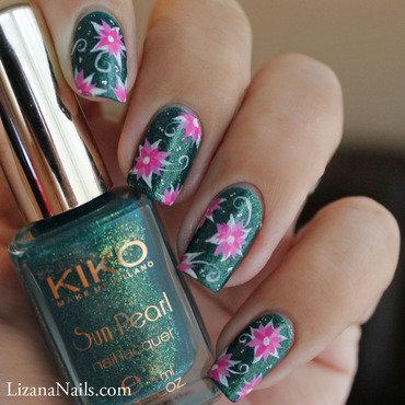 Rivergreen nail art by Lizana Nails