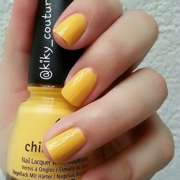 China Glaze Metro Pollen-tin Swatch by Ximena Echenique