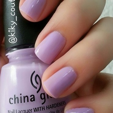 China Glaze Lotus Begin Swatch by Ximena Echenique