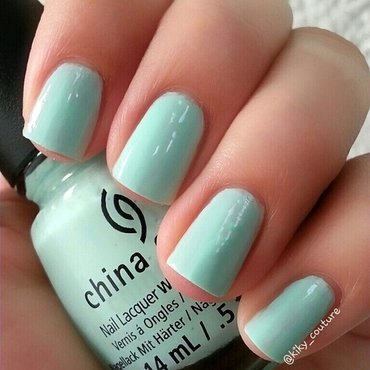 China Glaze At Vase Value Swatch by Ximena Echenique