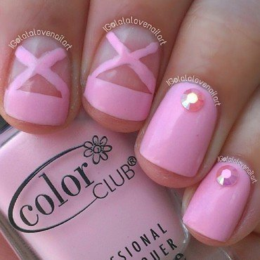 Tu-Tu Cute nail art by Jessica Byles
