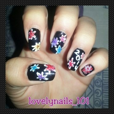 New Years 2014 nail art by Magaly