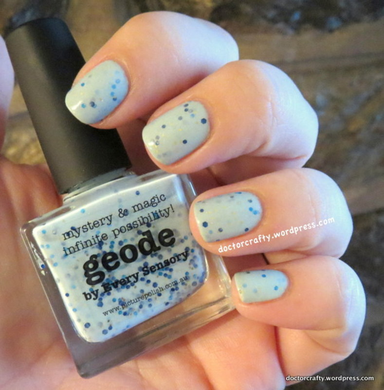piCture pOlish Geode Swatch by Nicole