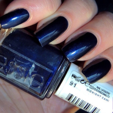 Essie Midnight Cami Swatch by Viv