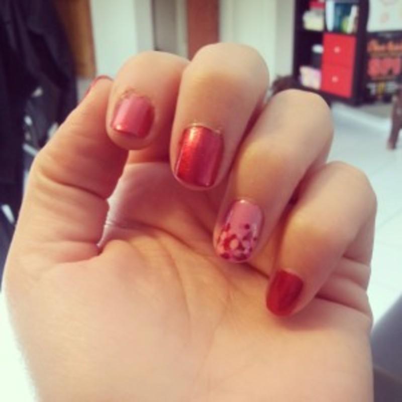 Manucure Kiko nail art by Dju Nails
