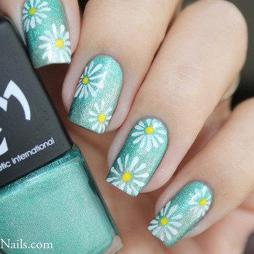 228   nail art   flower power thumb370f