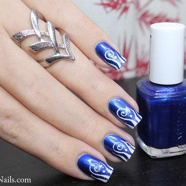 243   nail art   aruba blue thumb370f