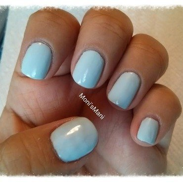 Essie Borrowed and Blue Swatch by Moni'sMani