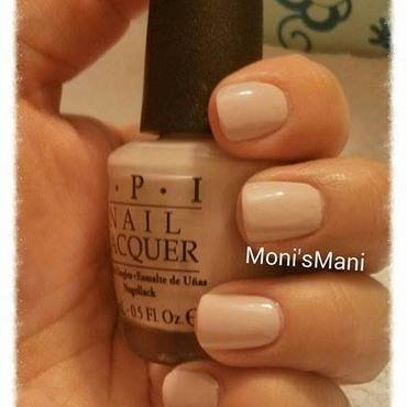 OPI don't bossa nova me around Swatch by Moni'sMani