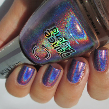 Dance Legend Cosmic Rainbow Swatch by Marina
