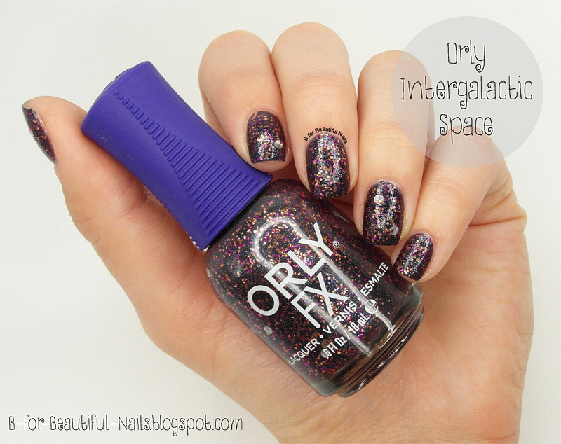 Orly Intergalactic Space Swatch by B.
