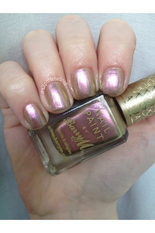 Barry M Caspian Swatch by allpolishedout
