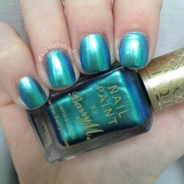 Barry M Pacific Swatch by allpolishedout