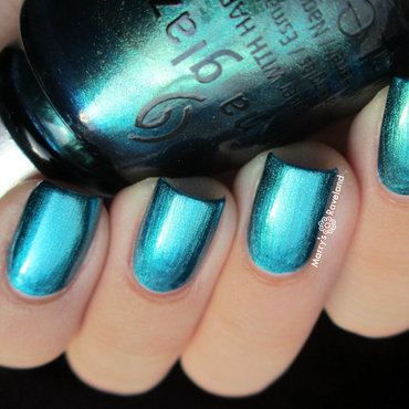 China Glaze Deviantly Daring Swatch by Marina