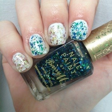 Barry M Mermaid Swatch by allpolishedout