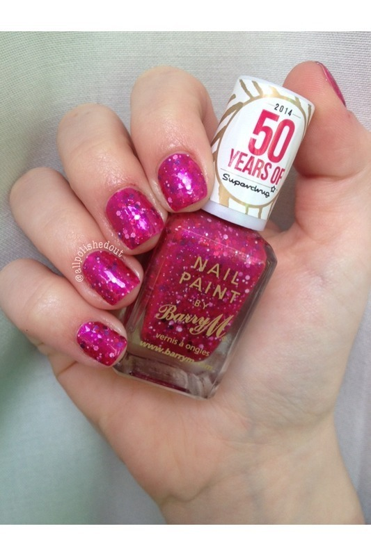 Barry M Superdrug 50th Birthday Limited Edition Swatch By