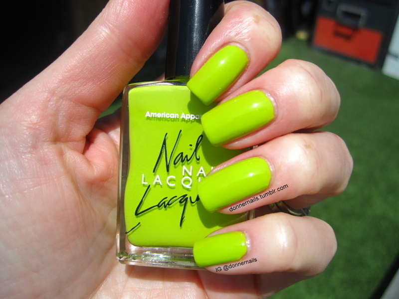 American Apparel Crescent Heights Swatch by Donner