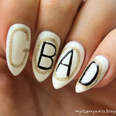 Good or bad? nail art by Pauline