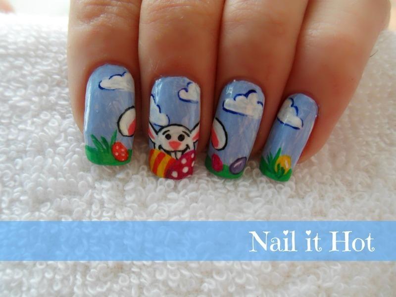 Easter nail art by Nail_it_hot