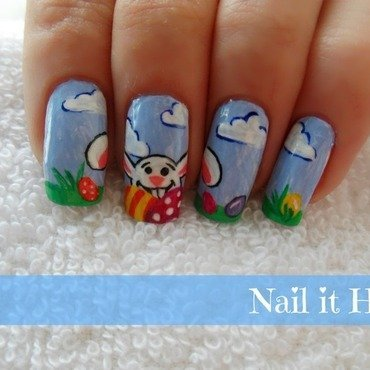 Easter nail art by Nail_it_hot