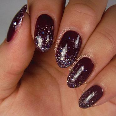 Classy Gradient nail art by Natasha