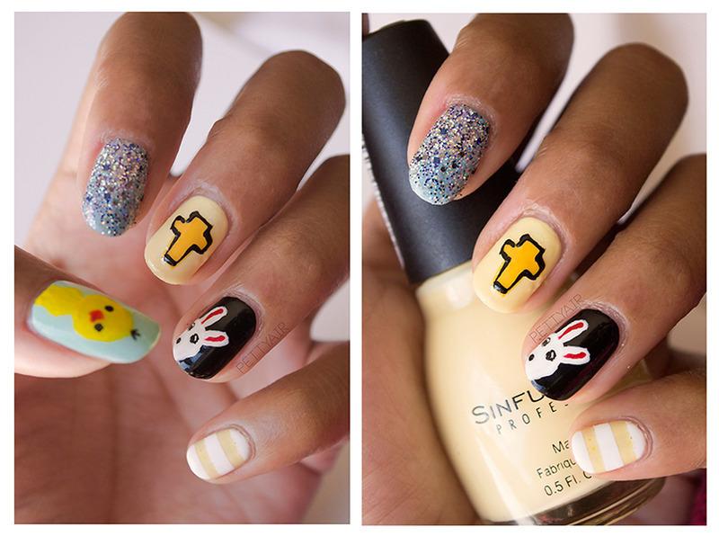 Easter Nail Art Attempt nail art by Ayaka Shiroyama