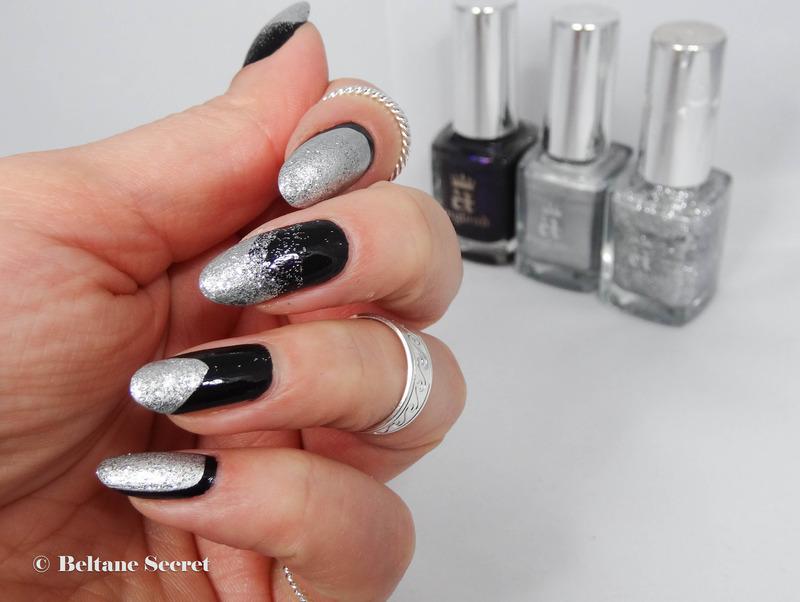 Mix & Match nail art by Virginie