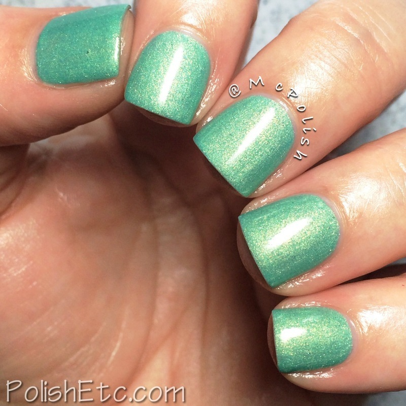 Bliss Polish Tiffany Who? Swatch by Amy McG