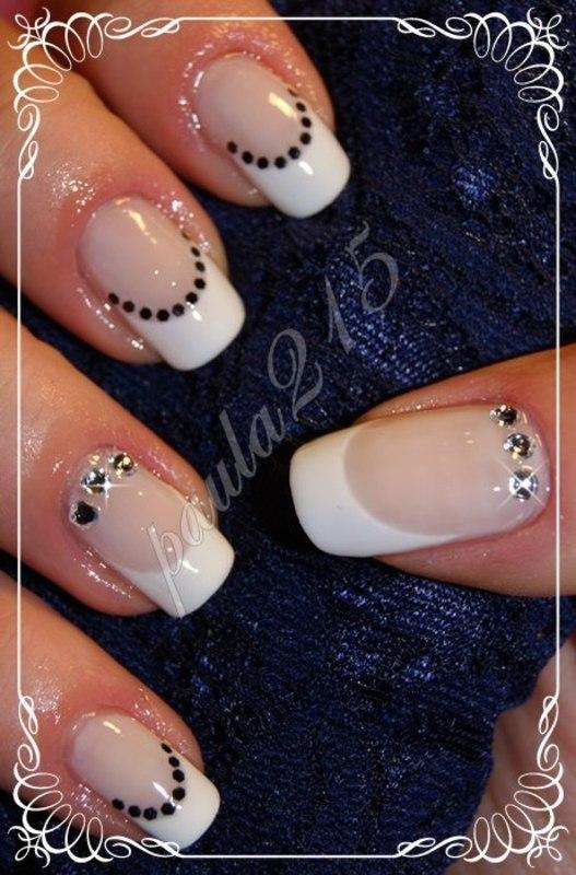 French. nail art by Paula215. NAILS