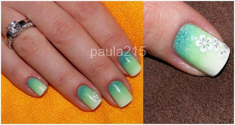 Spring. nail art by Paula215. NAILS