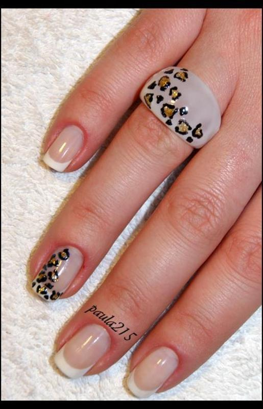 French. nail art by Paula215. NAILS