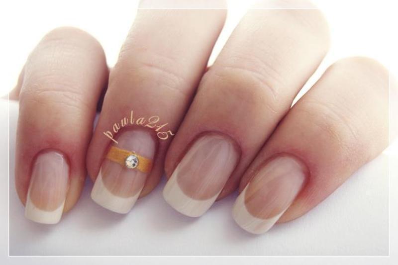 Ring. nail art by Paula215. NAILS