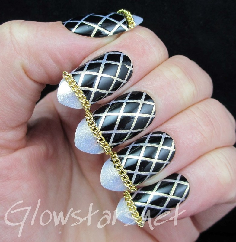 You can't intimidate me back into your arms nail art by Vic 'Glowstars' Pires