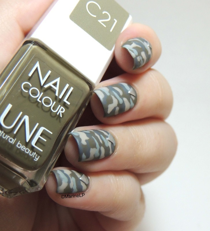Camouflage nails nail art by marine loves polish nailpolis camouflage nails nail art by marine loves polish prinsesfo Gallery