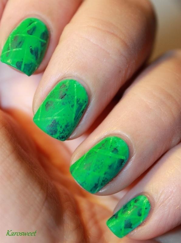 "Nailstorming ""Arrow""  nail art by Karosweet"