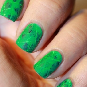 "Nailstorming ""Arrow""  nail art by Karosweet"