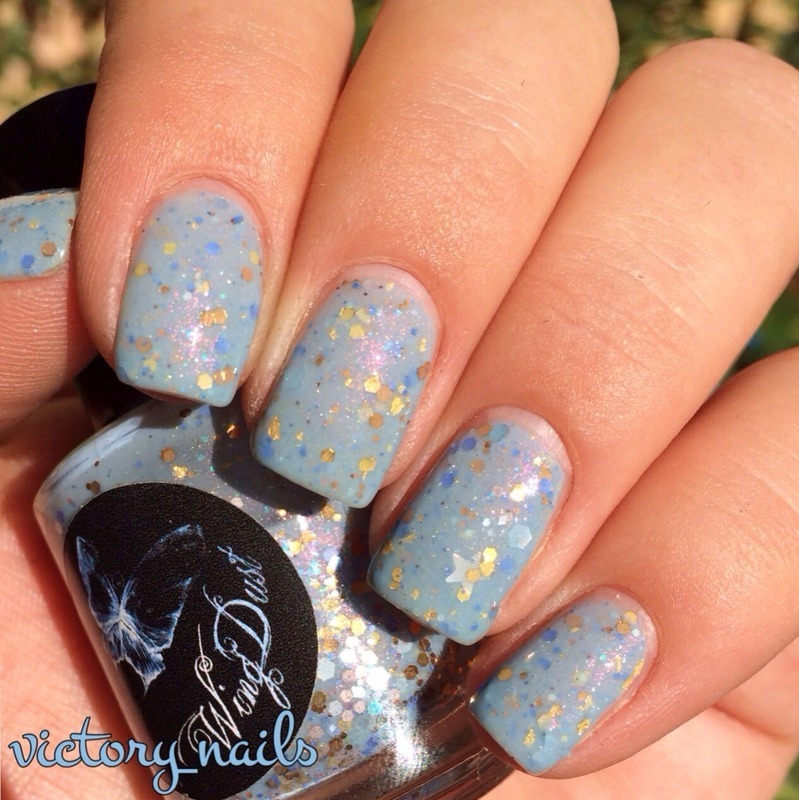 Wing Dust Perfect Day Swatch by Nicole