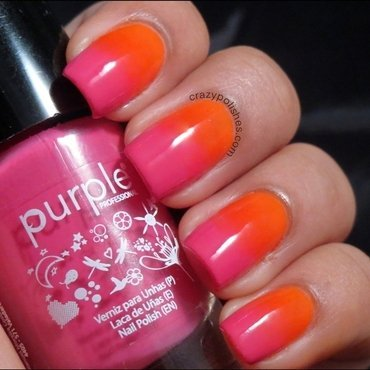 Ombre sponging nail art thumb370f