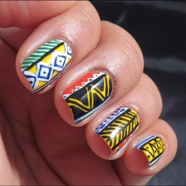 Freehand nail art thumb370f