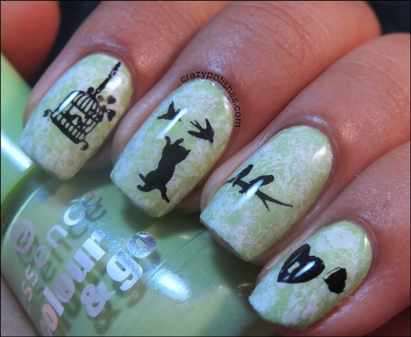 Free Birds nail art by CrazyPolishes (Dimpal) - Nailpolis: Museum of ...