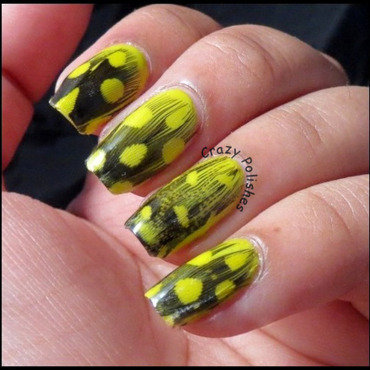 Nail art feathers thumb370f