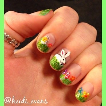 Don't put all your eggs in one basket nail art by Heidi  Evans