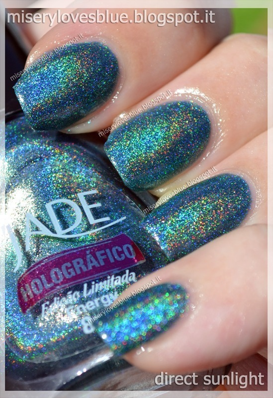 Jade Energy Swatch by MiseryLovesBlue