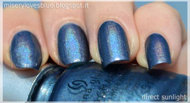China Glaze Strap on your Moonboots Swatch by ...
