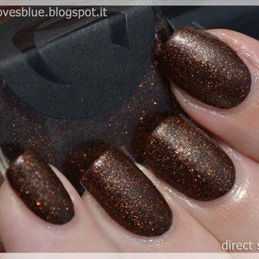 Cirque French Roast Swatch by MiseryLovesBlue