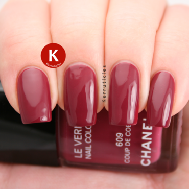 Chanel Coup de Coeur Swatch by Claire Kerr
