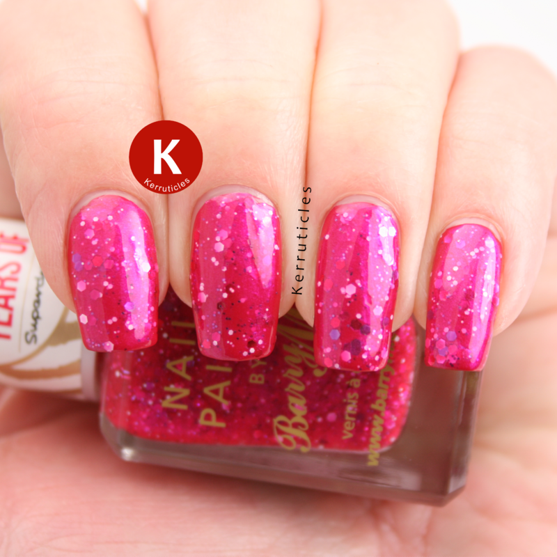 Barry M Superdrug Birthday Swatch by Claire Kerr