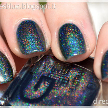 Glitter Gal Lizard Belly Swatch by MiseryLovesBlue